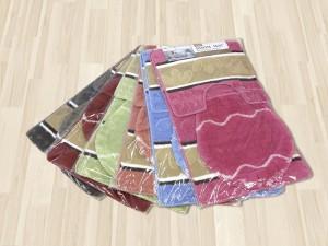 Комплект ковриков для ванной 3в1 50х80