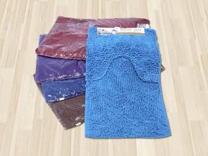 Набор ковриков ворс для ванной 2в1 50х80